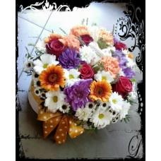 Kvety v krabičke Eny´s style ako Dôkaz lásky