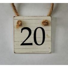 20 mini tabuľka