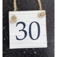 30 štvorlístok