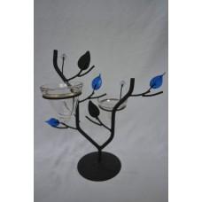 Svietnik strom modrý