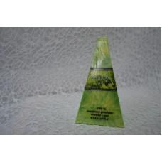 Sviečka prirodná s palmového vosku zelený čaj ihlan