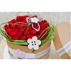 Ruže v boxe red roses