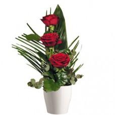 Kytica tri ruže