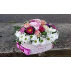 Kvetinový box heart