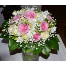 Svadobná kytica pink romanca