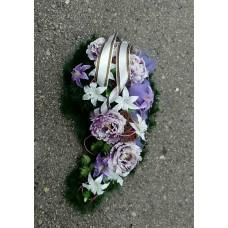 Smútočný veniec violet